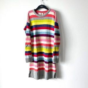 Gap Soft Striped Sweater Dress sz XL 12